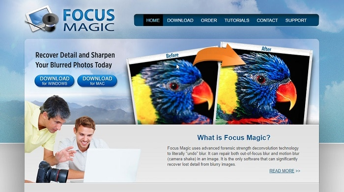 Focus-Magic