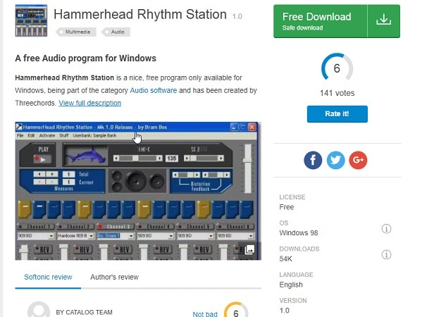 hammerhead rhythm station windows 10