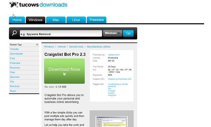 How To Place An Ad On Craigslist >> 12 Best Free Craigslist Posting Software Updated 2018 Techwhoop