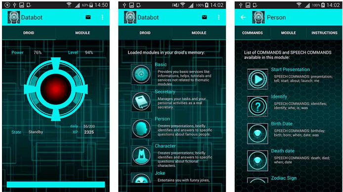 databot best personal assistant apps
