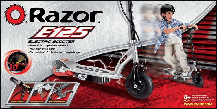 Razor E125 Motorized scooter
