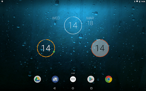 Onca Clock Widget