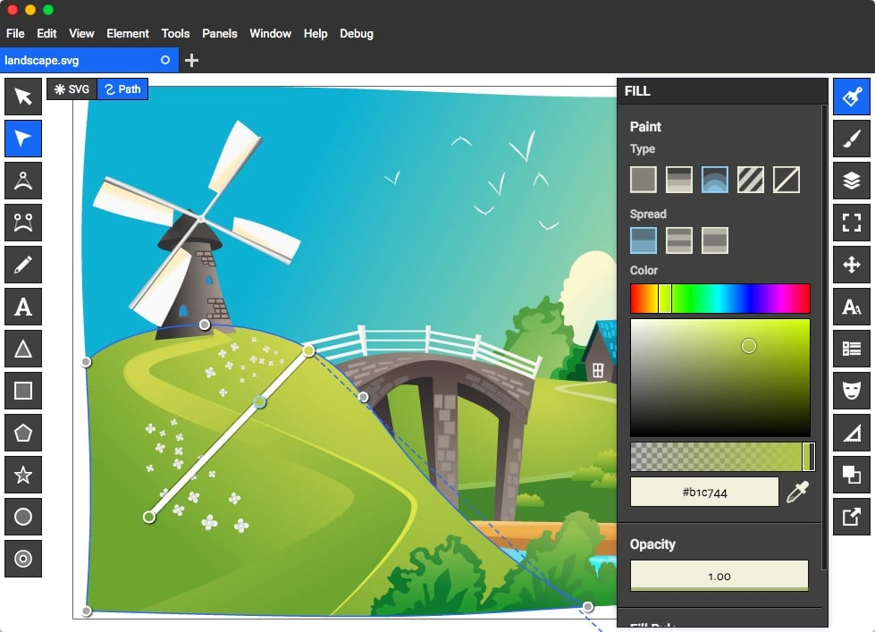 Top 10 best free graphic design software latest techwhoop Online vector editor