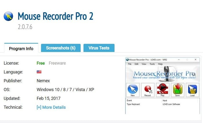 Mouse Recorder Pro