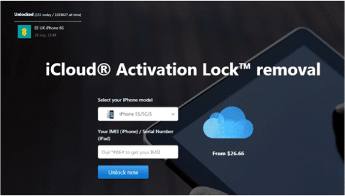 Remove iCloud Activation tool