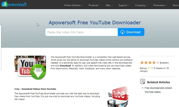 Apowersoft YouTube Downloader Suite