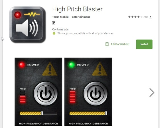 High Pitch Blaster