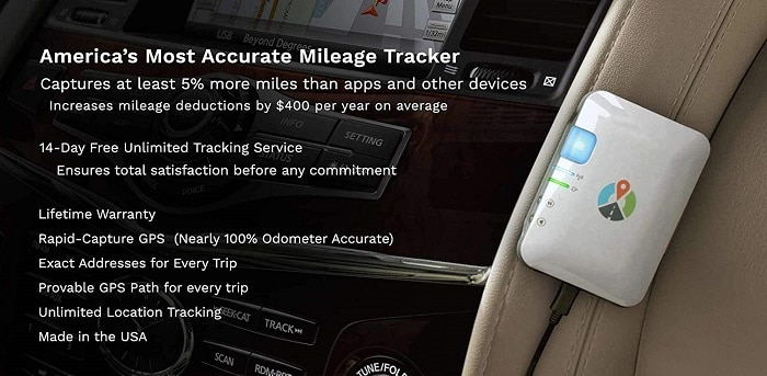Mileage Log GPS Tracker