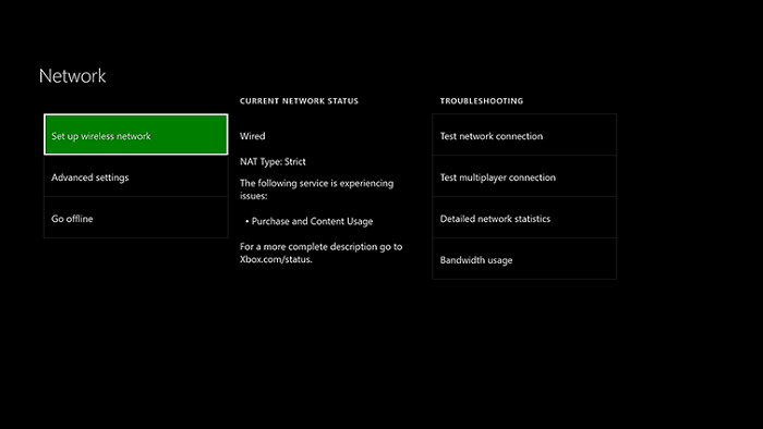 Nat configuration for XBox