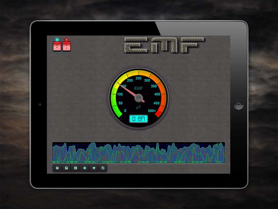 Paranormal EMF Recorder and Scanner