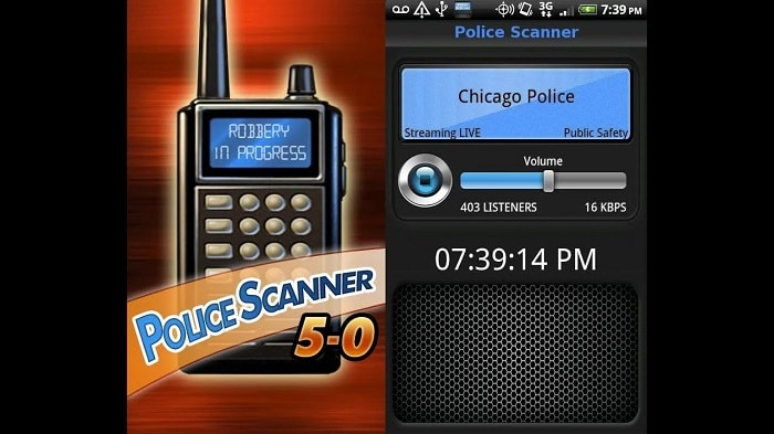 Police Scanner 5-0 (Android)