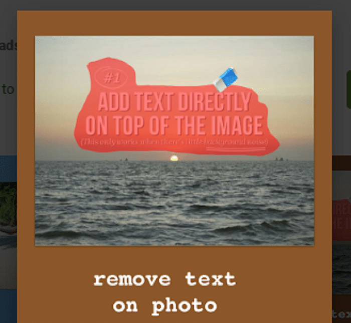 Unwanted remover