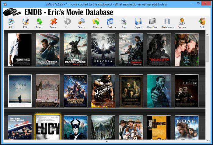 10 Best Free Movie Catalog Software for Windows | Updated (2018)