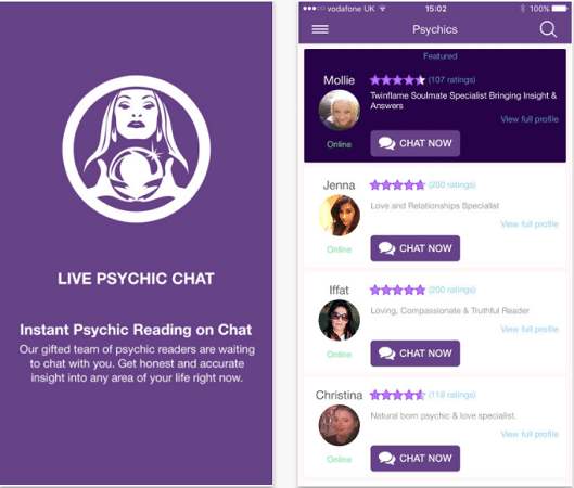Live Psychic Chat