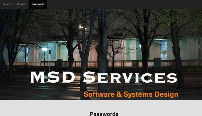 MSD Services