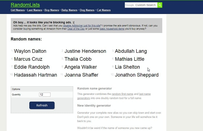 8 best free random name generator tools in 2018 techwhoop