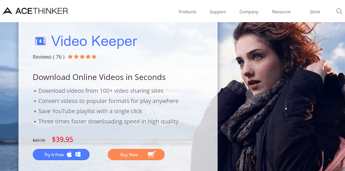Video Keeper vimeo to mp4