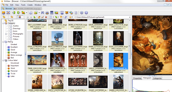 xnview eps editor software