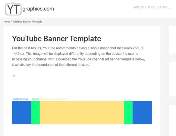 7 Best Websites To Download Youtube Banner Templates - Techwhoop