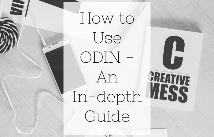 How to Use ODIN