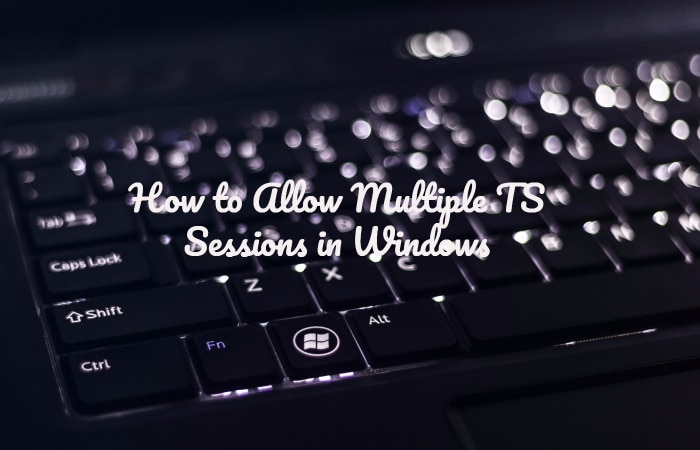 Multiple TS Sessions