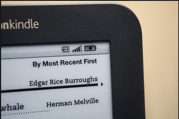Charge the Battery on Kindle