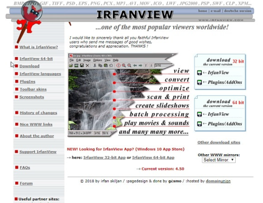 irfanview- eps file viewer