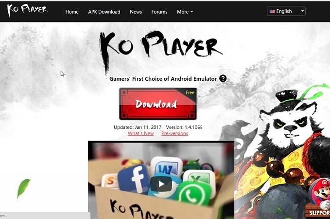 KO Player