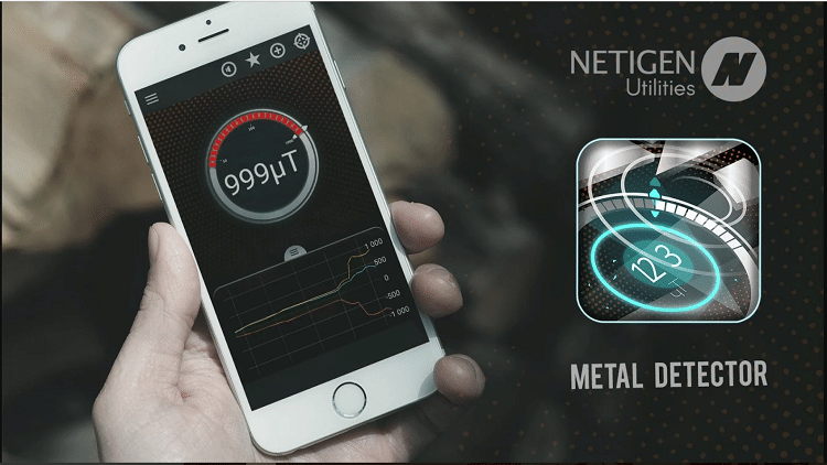 Metal Detector by Netigen