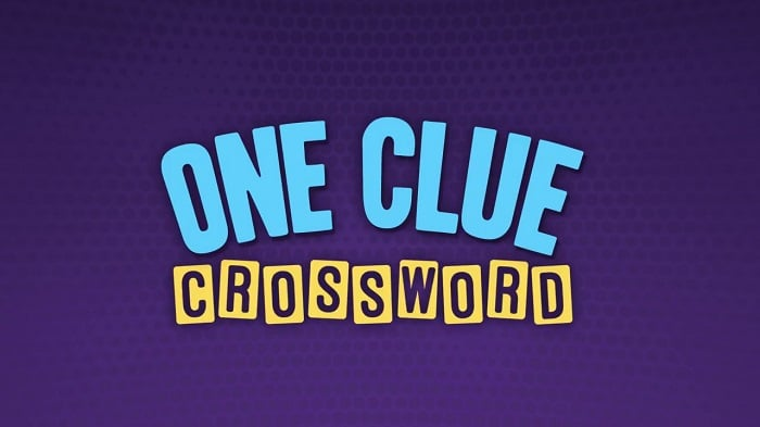 One-Clue Crossword