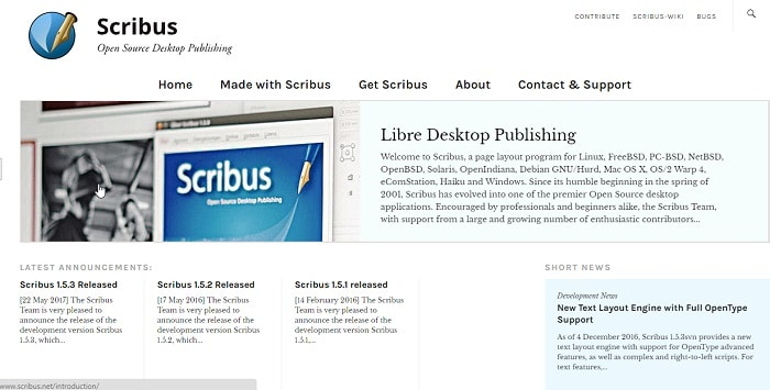 scribus eps editor software