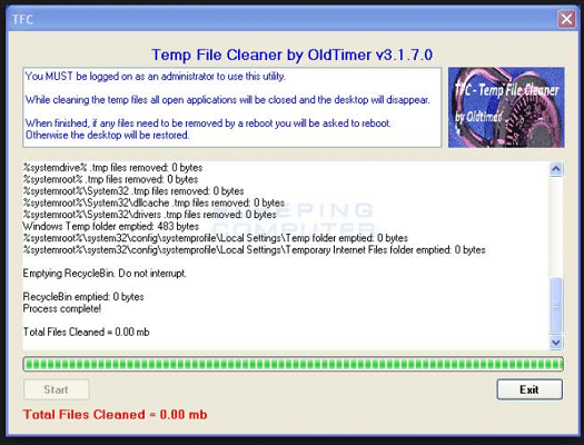 TFC (Temp File Cleaner)