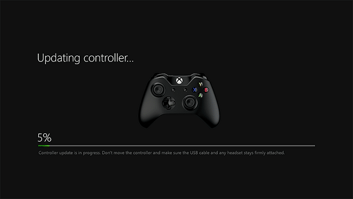 Update Xbox controller software