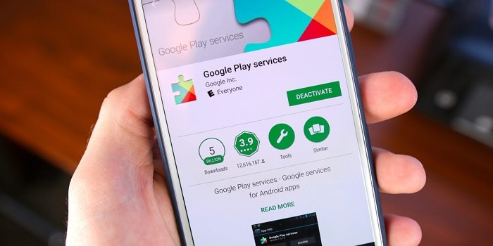 Update your Google Play Services