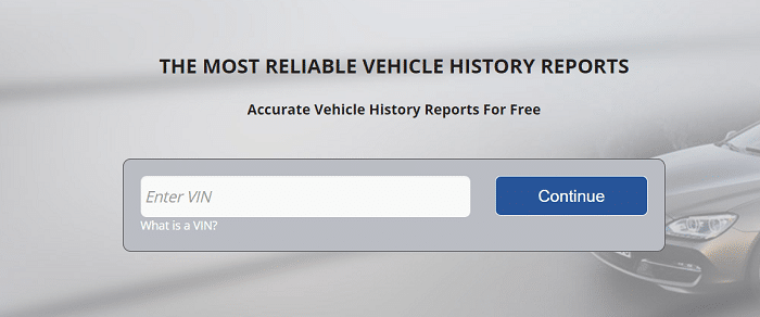 Vehicle History