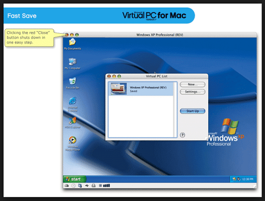 Virtual PC for Mac