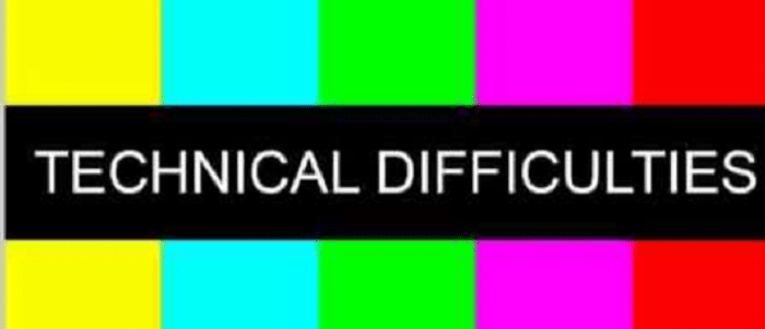 technical issues