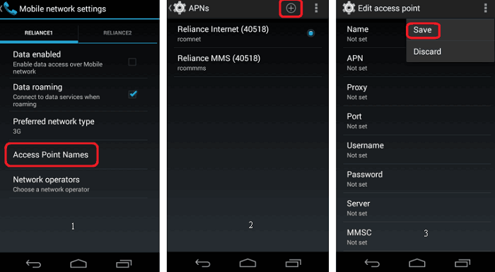 APN Settings for Android