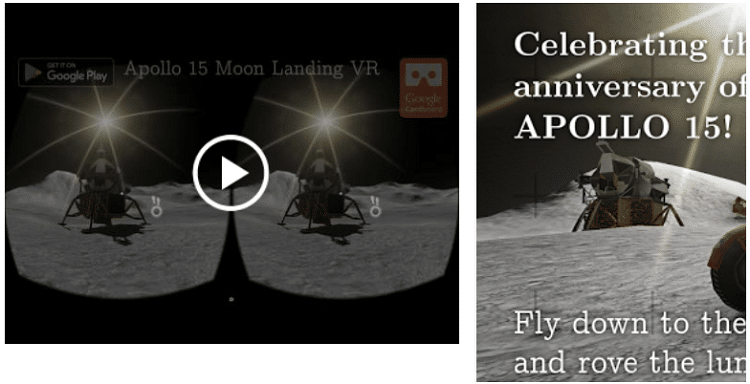 Apollo 15 Moon Landing VR