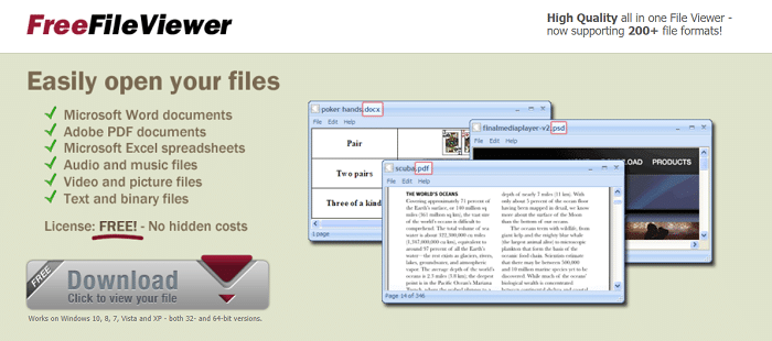 Bitberry Software's Free File Viewer