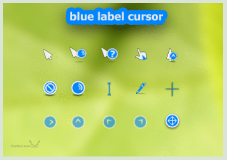 Blue Label Cursor