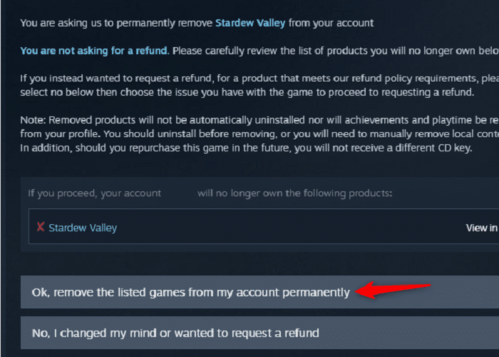 Delete steam (2)