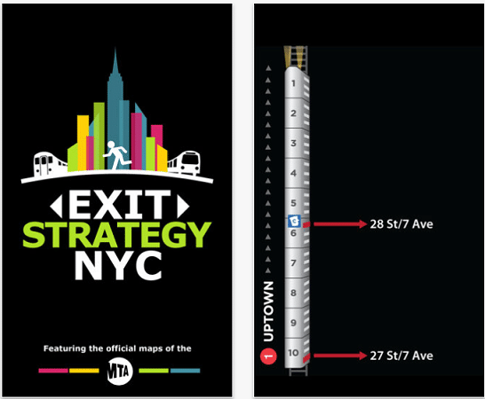 Exit Strategy NYC Subway Map