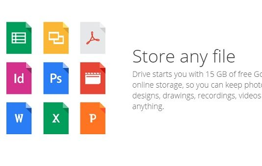 Google Drive - File Sharing Sites