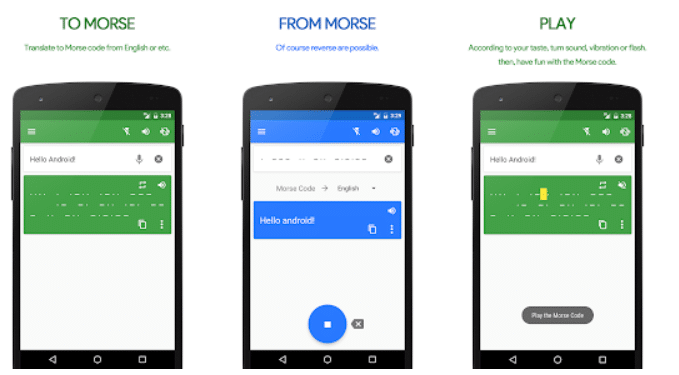 Morse Code Translator App by JinH