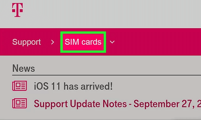 New SIM Card