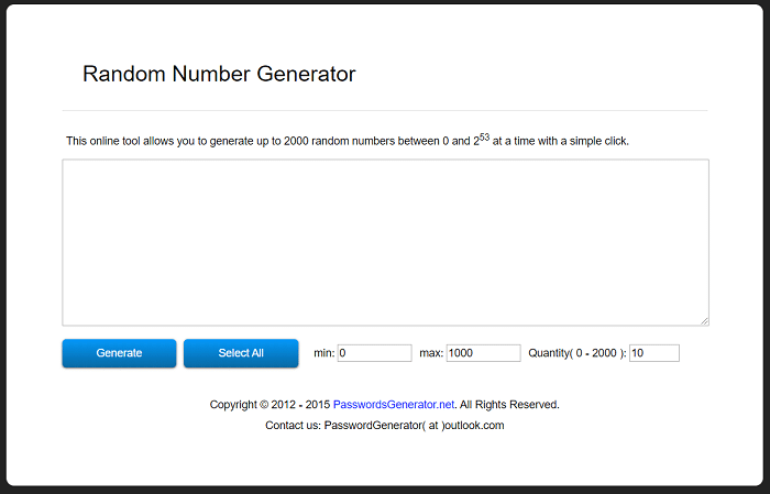Password generator. net