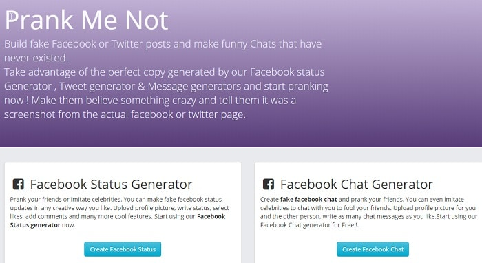 6 Best Fake Facebook Status Generator Tools (Latest) - TechWhoop