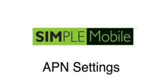 Simple Mobile APN Settings