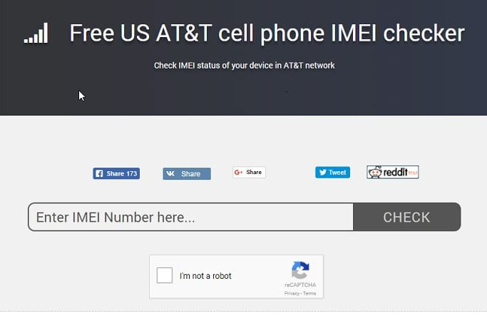 AT&T IMEI